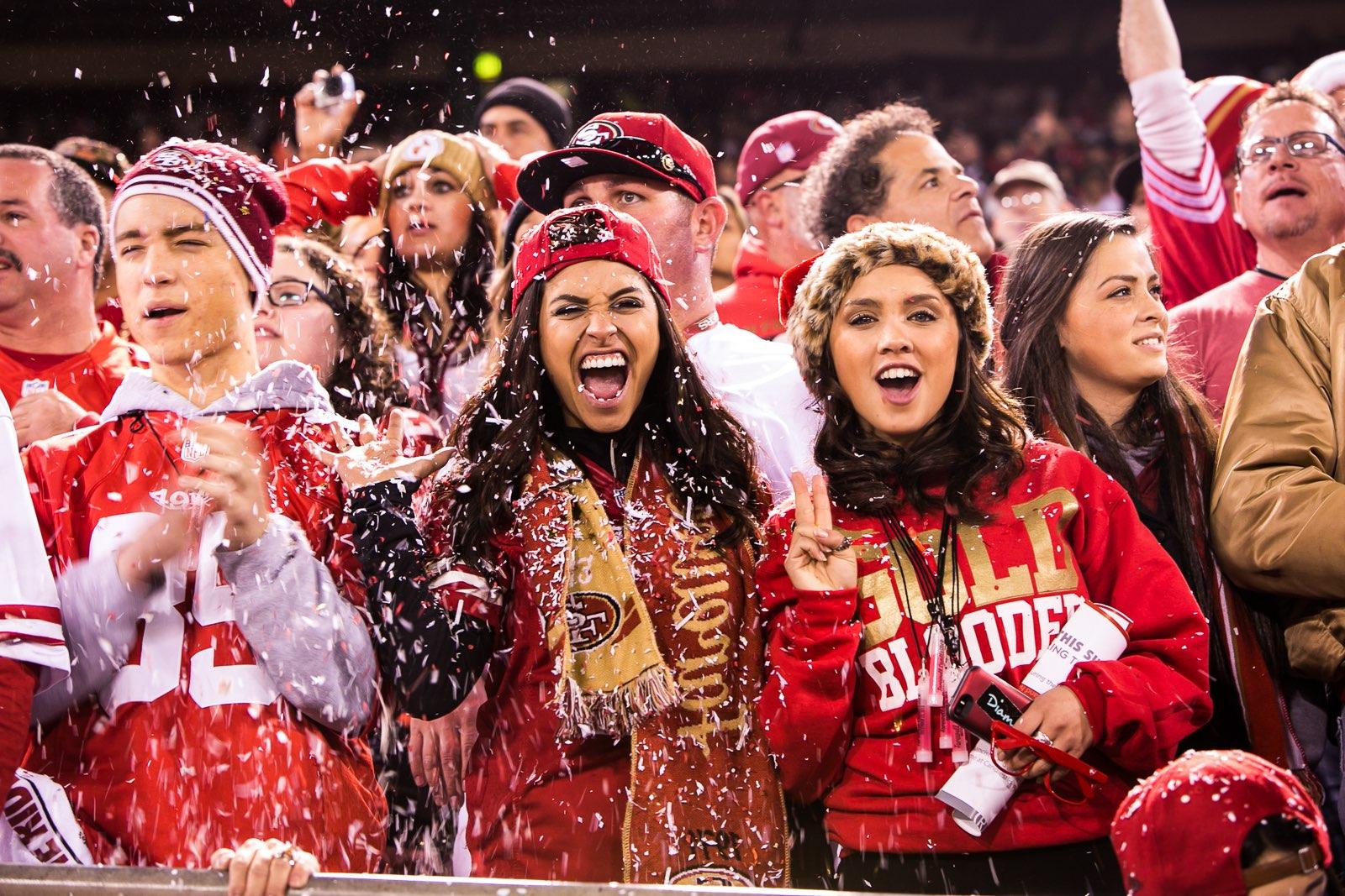 SF-49ers-fans-cheering-in-snow Nightlife