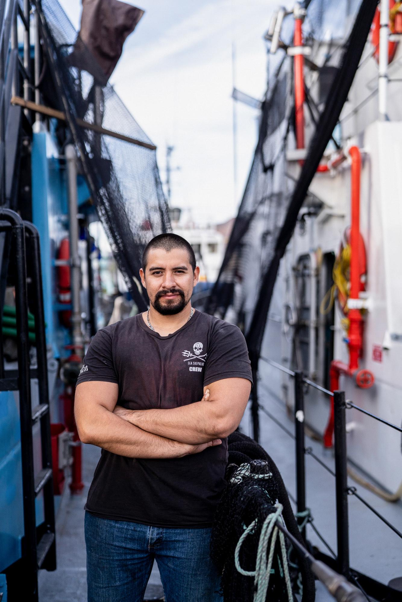 sea-shepherd-engineer-portrait SEA SHEPHERD